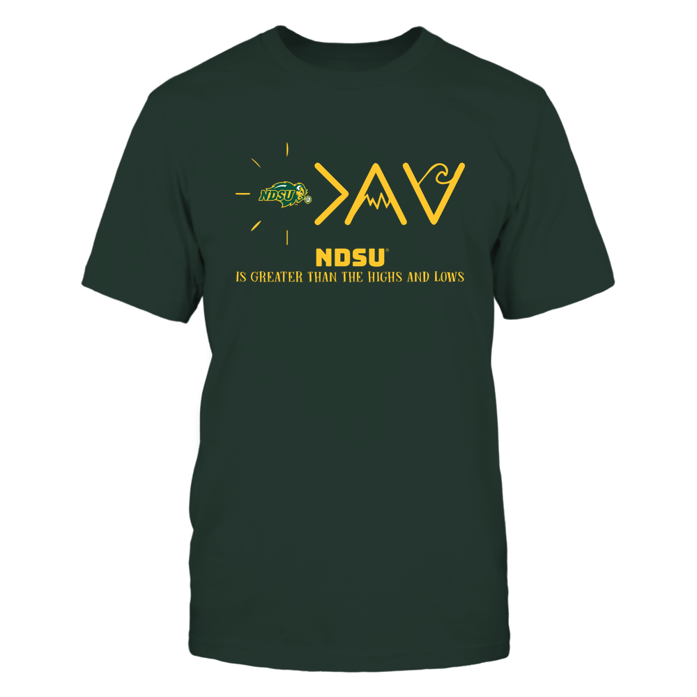 North Dakota State Bison - Greater Than The High and Lows Front picture
