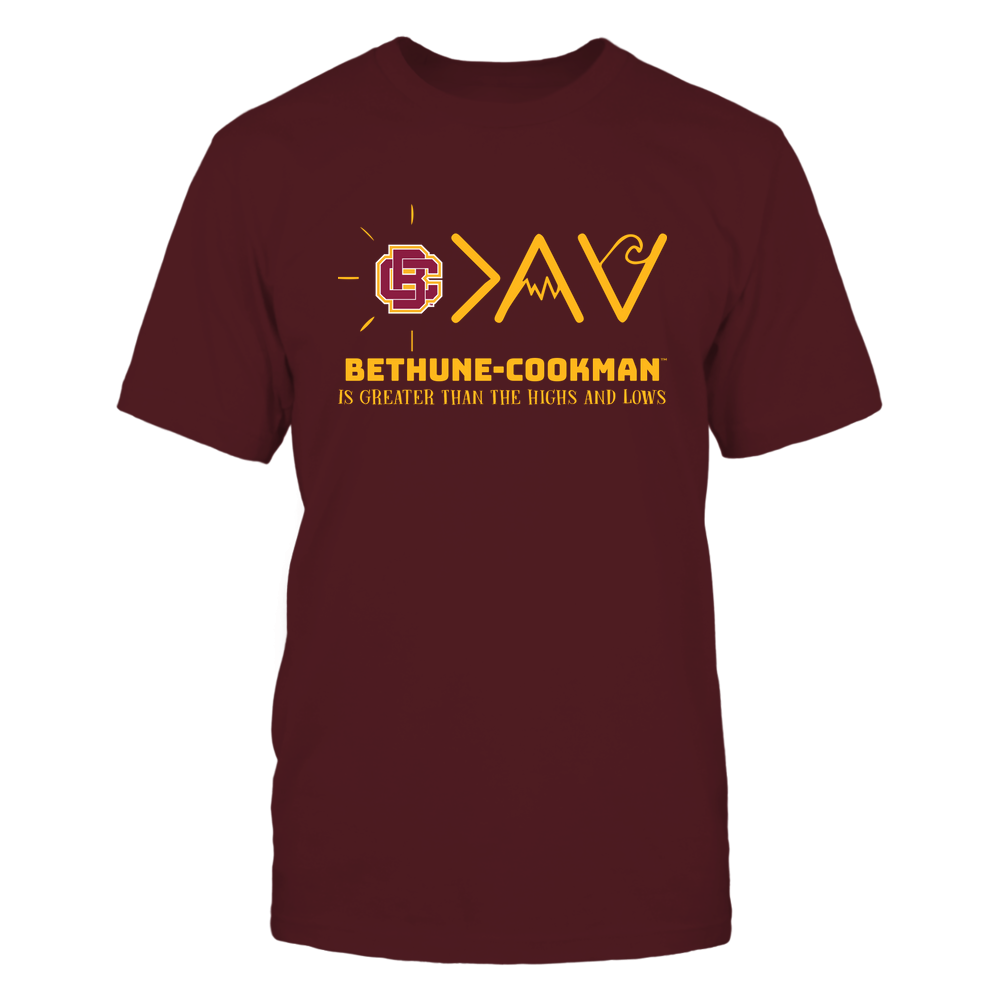 Bethune-Cookman Wildcats - Greater Than The High and Lows Front picture