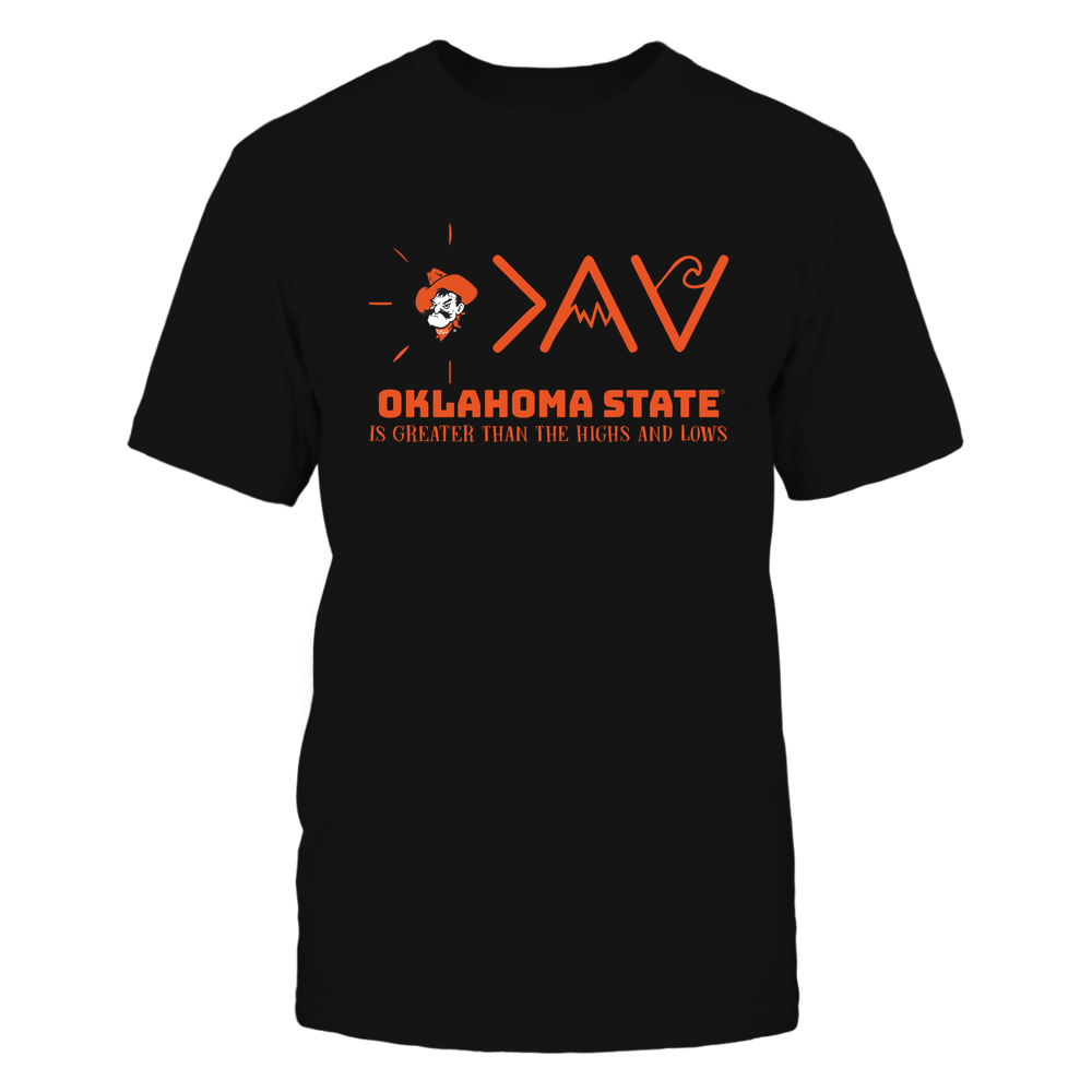 Oklahoma State Cowboys - Greater Than The High and Lows Front picture