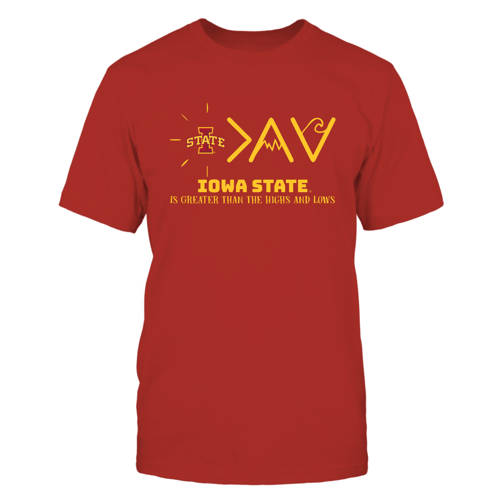 Iowa State Cyclones - Greater Than The High and Lows Front picture