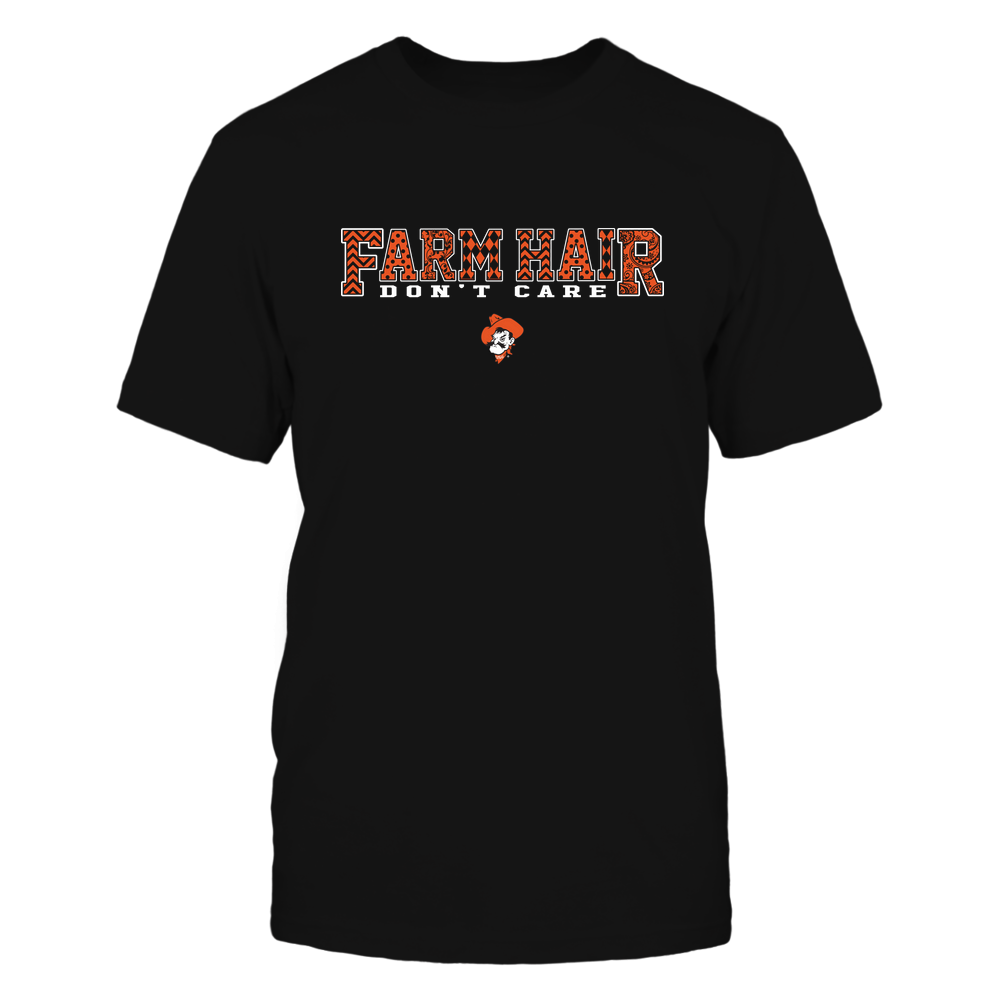 Oklahoma State Cowboys - Farm Hair Don't Care Front picture