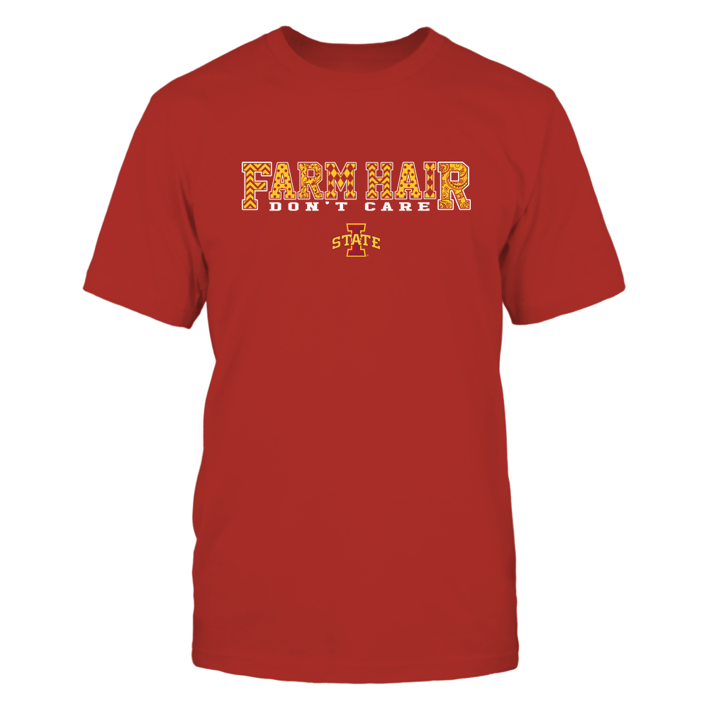 Iowa State Cyclones - Farm Hair Don't Care Front picture