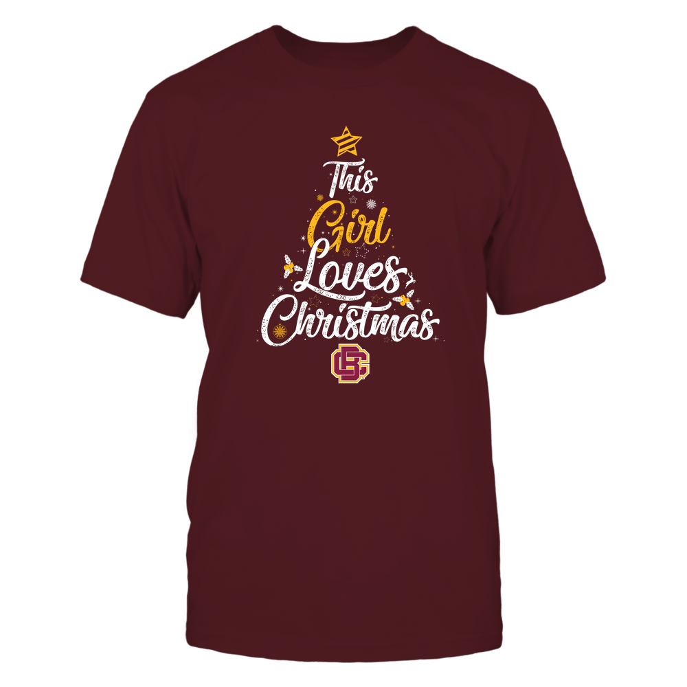 """Bethune-Cookman Wildcats - This """"Girl"""" Loves Christmas Front picture"""