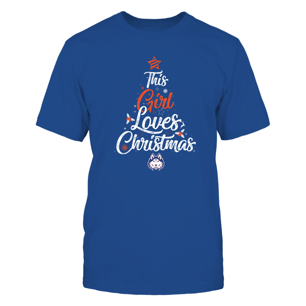 "Houston Baptist Huskies - This ""Girl"" Loves Christmas Front picture"
