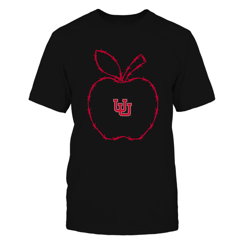 Utah Utes - Barbed Wire Apple Front picture