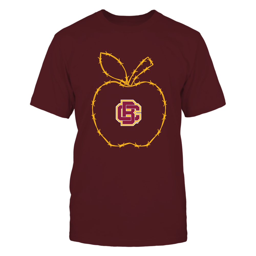 Bethune-Cookman Wildcats - Barbed Wire Apple Front picture