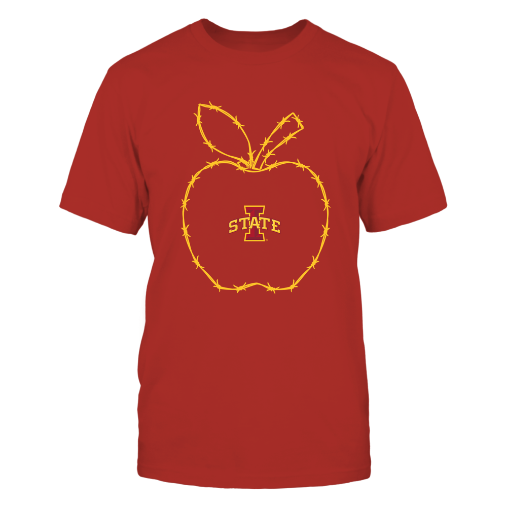 Iowa State Cyclones - Barbed Wire Apple Front picture