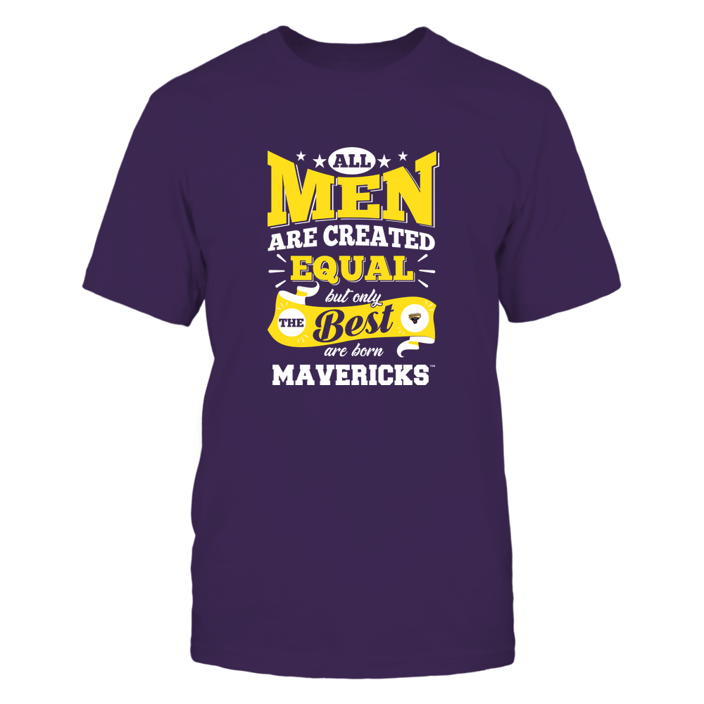 Minnesota State Mavericks - All Men are Created Equal Front picture