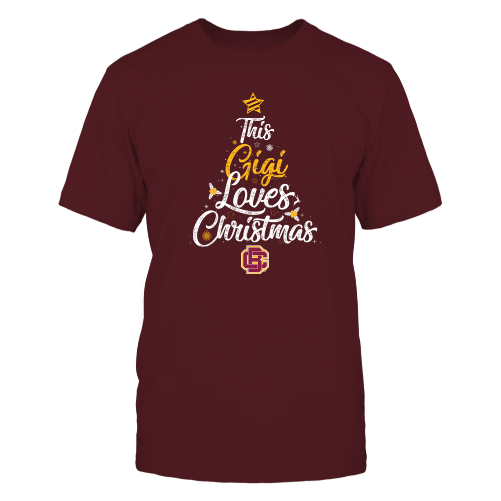 """Bethune-Cookman Wildcats - This """"Gigi"""" Loves Christmas Front picture"""