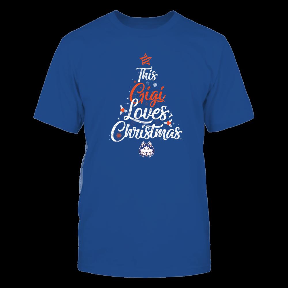 "Houston Baptist Huskies - This ""Gigi"" Loves Christmas Front picture"