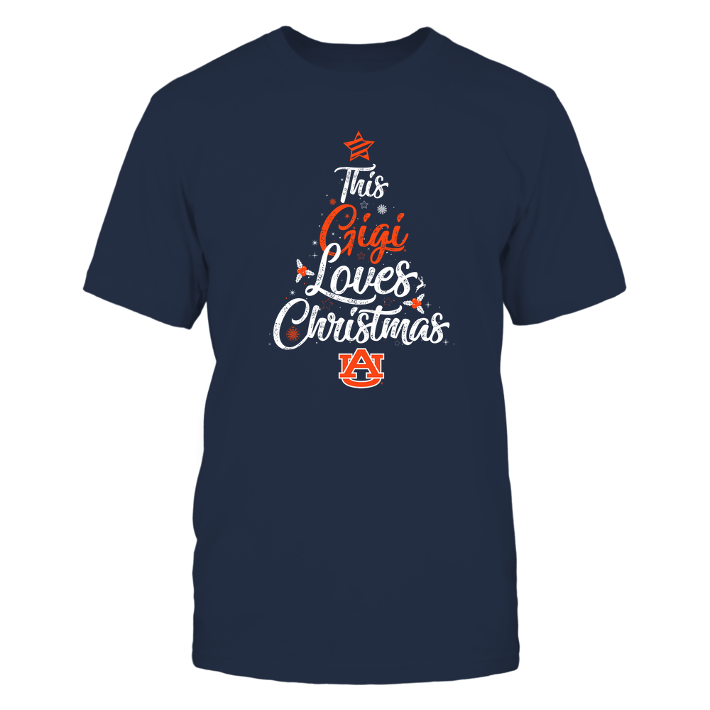 """Auburn Tigers - This """"Gigi"""" Loves Christmas Front picture"""