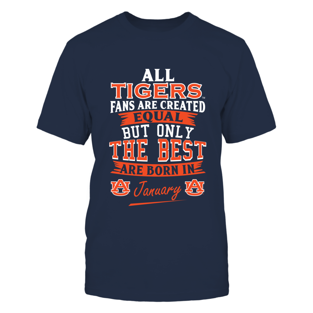 Auburn Tigers Fans - January Front picture