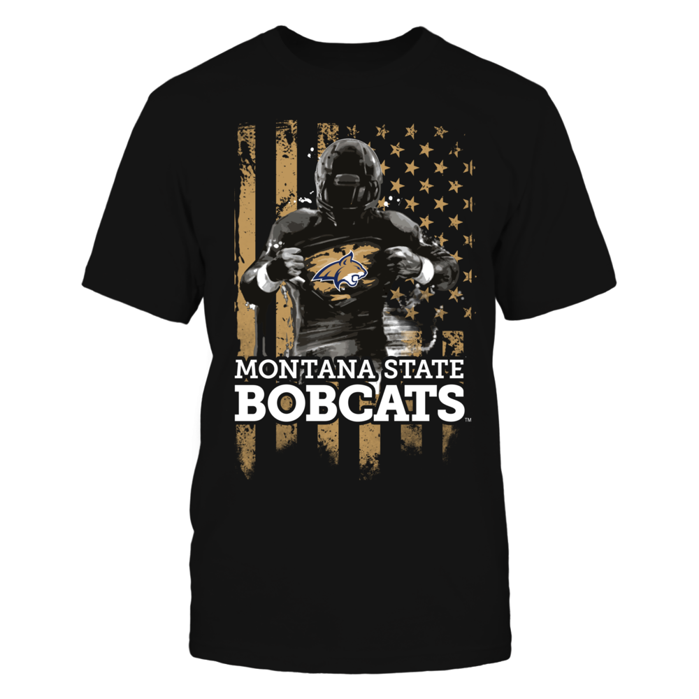 Player Flag - Montana State Bobcats Front picture