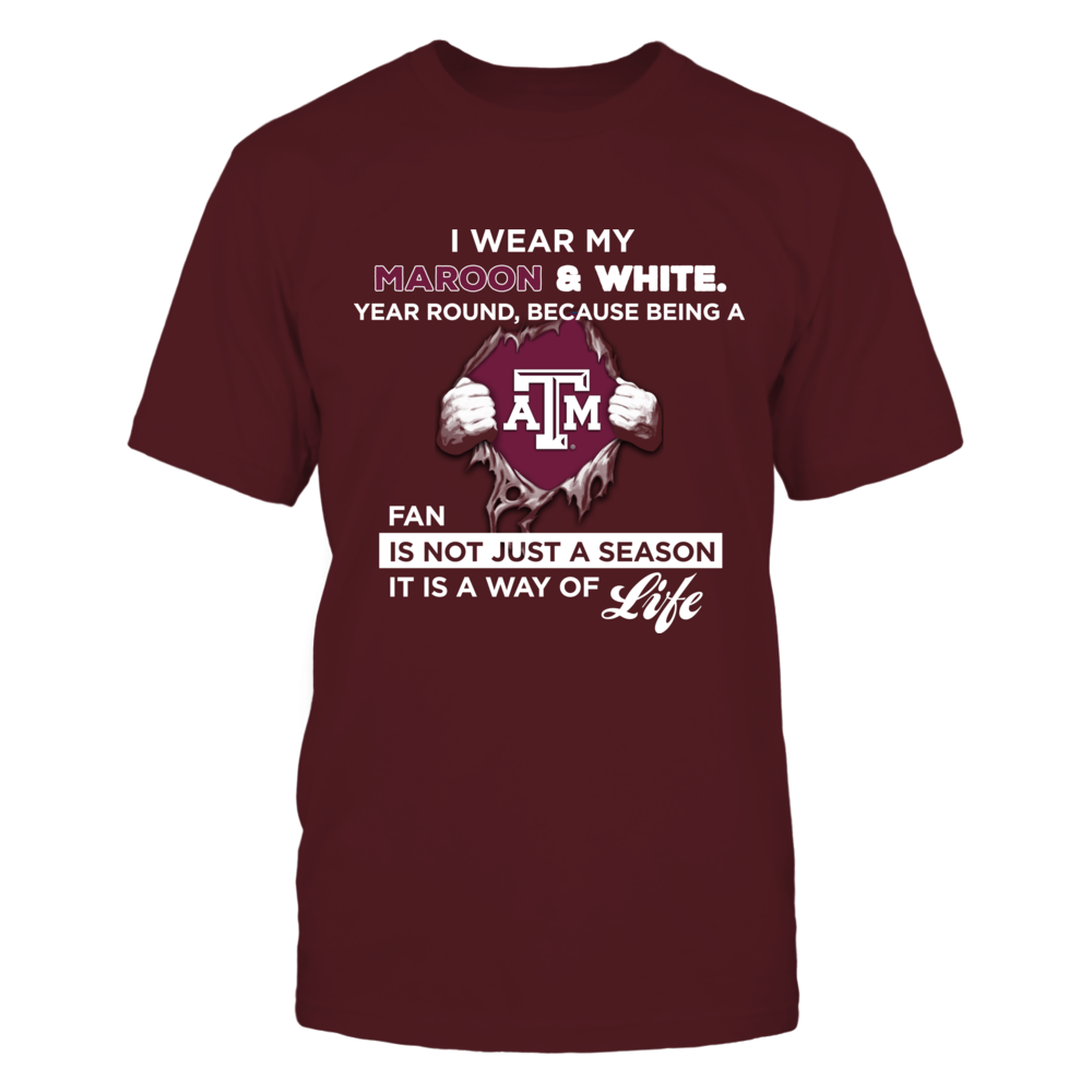 Wear My Colors - Texas A&M Aggies Front picture
