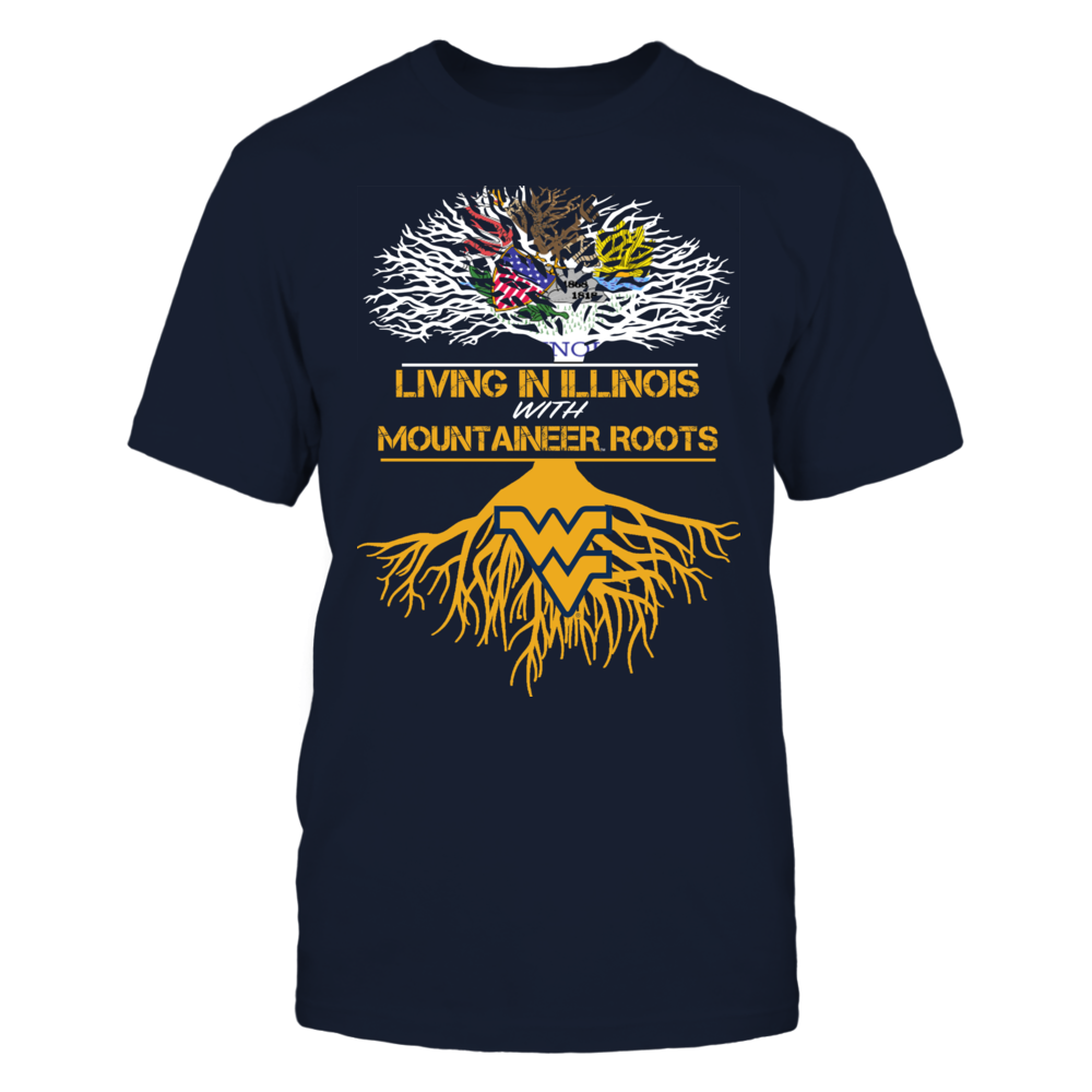 West Virginia Mountaineers - Living Roots Illinois Front picture