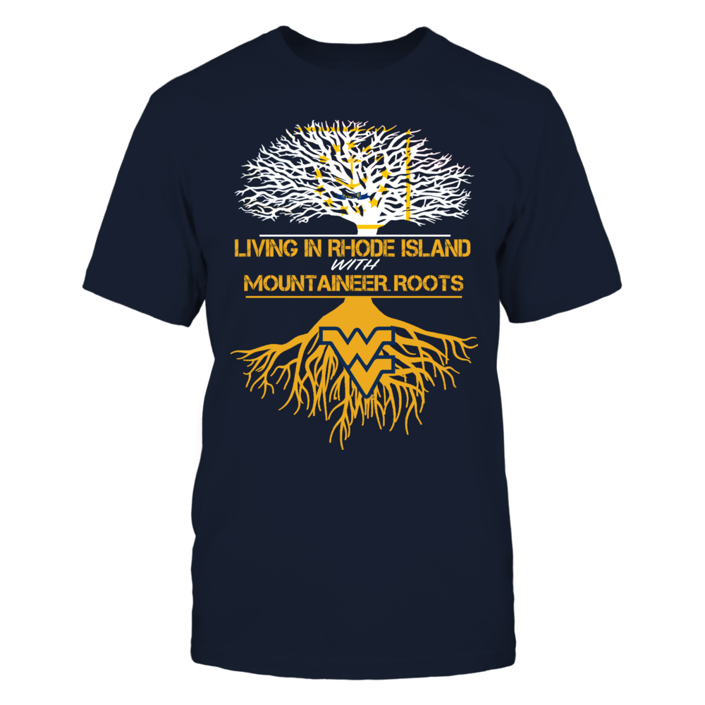 West Virginia Mountaineers - Living Roots Rhode Island Front picture