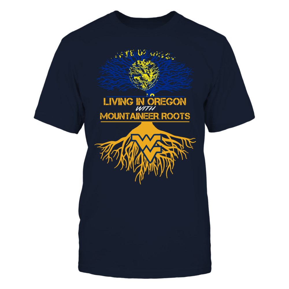 West Virginia Mountaineers - Living Roots Oregon Front picture
