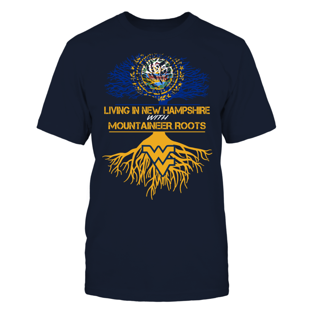 West Virginia Mountaineers - Living Roots New Hampshire Front picture