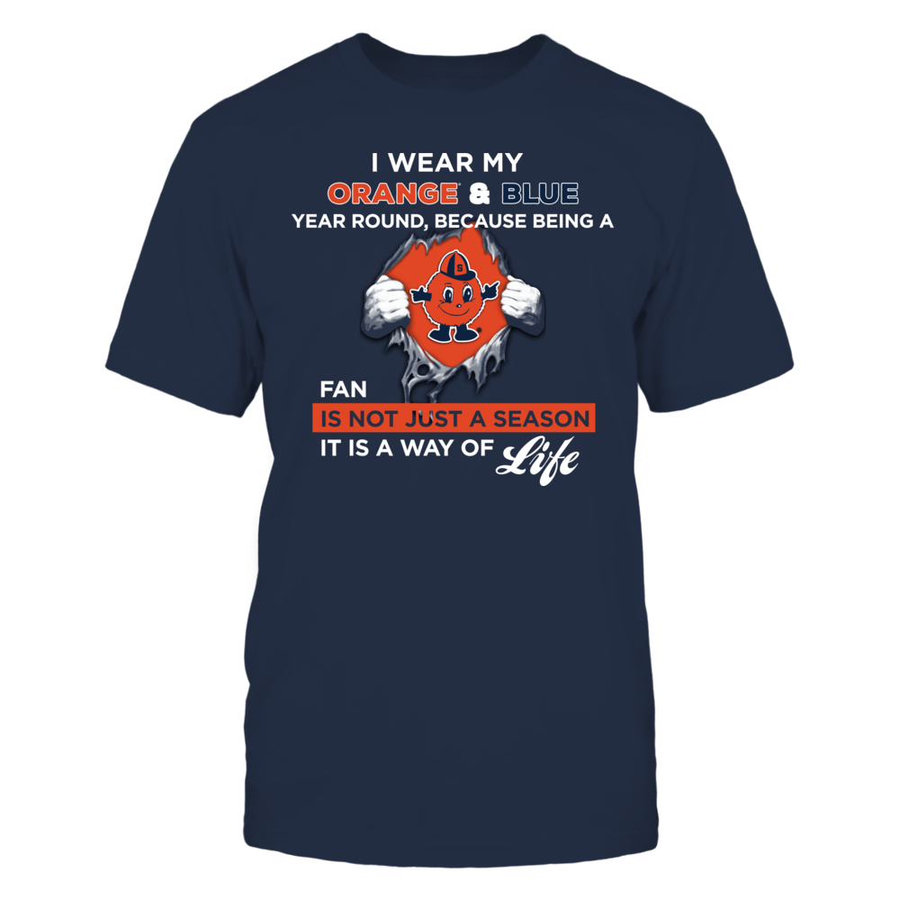 Wear My Colors - Syracuse Orange Front picture