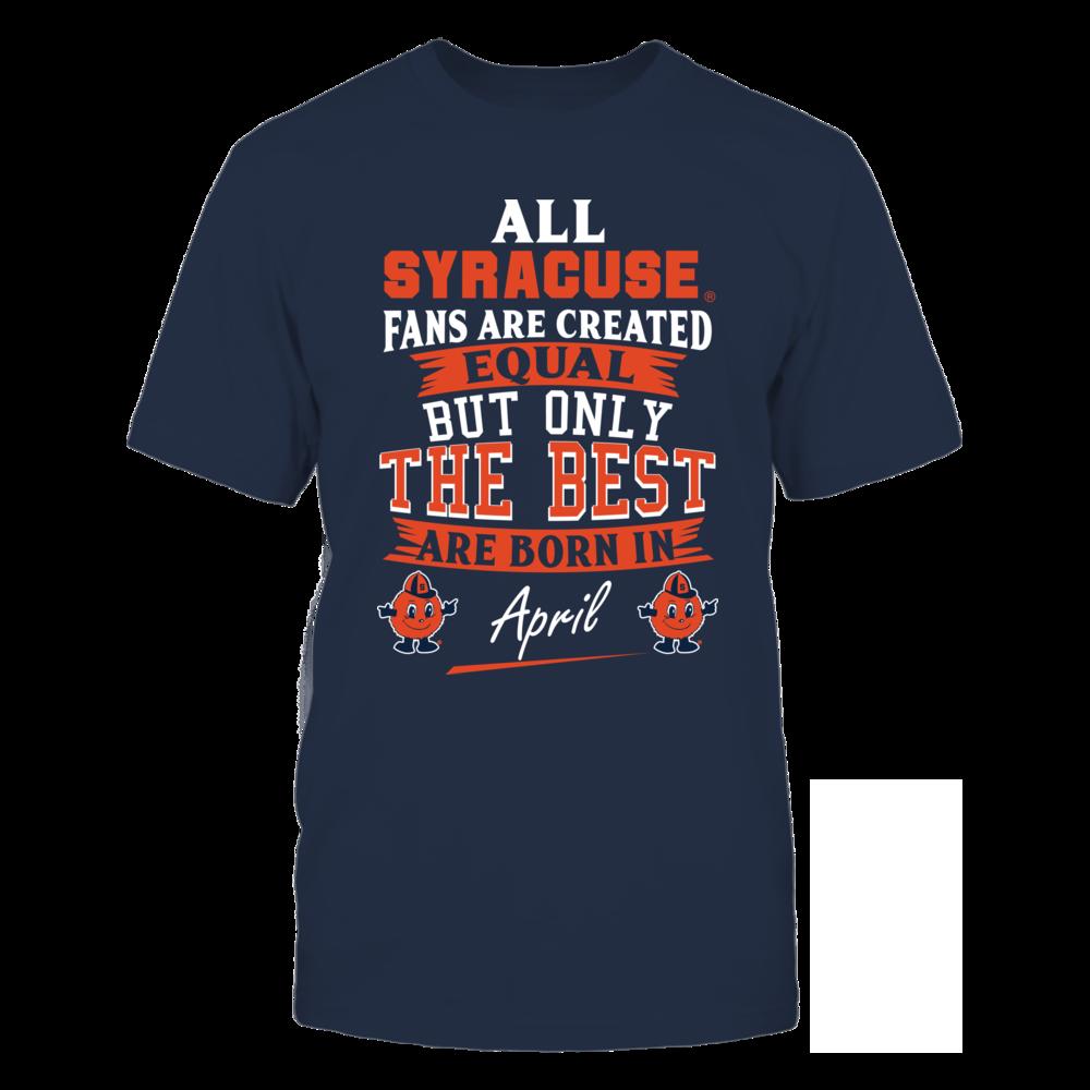 Syracuse Orange Fans - April Front picture