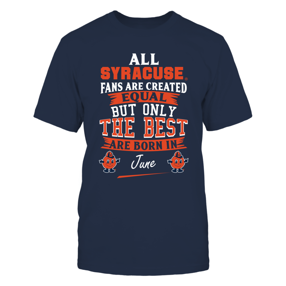 Syracuse Orange Fans - June Front picture