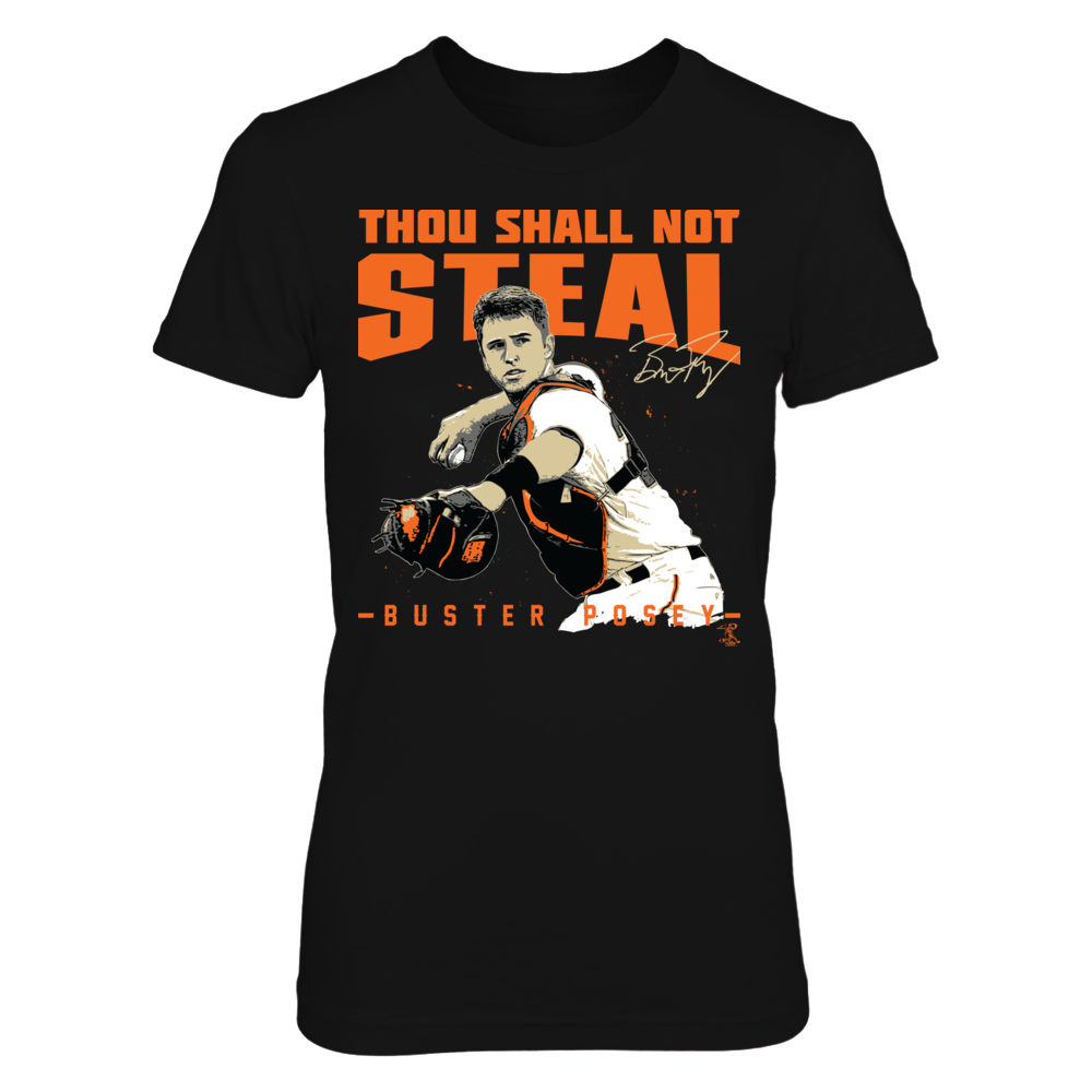 Buster Posey - Thou Shall Not Steal Front picture