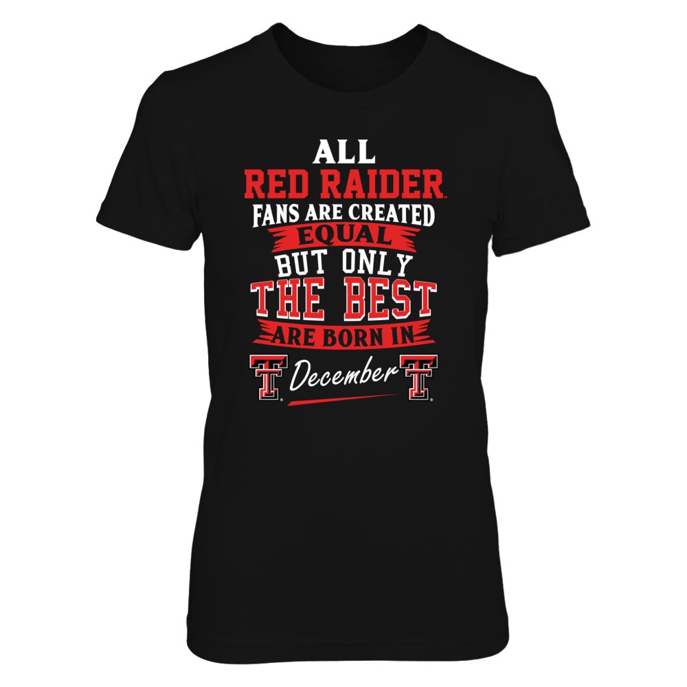 Texas Tech Red Raiders Fans - December Front picture