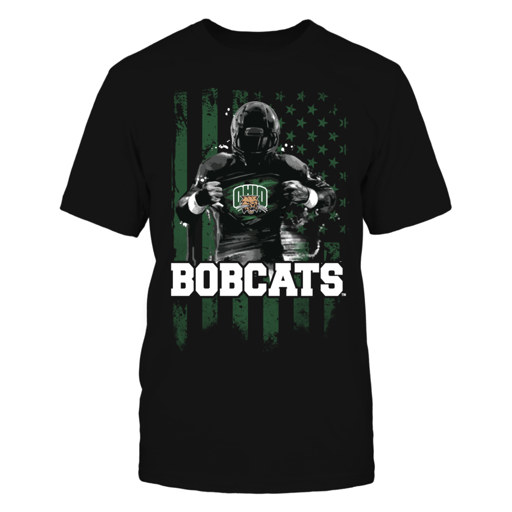 Player Flag - Ohio Bobcats Front picture