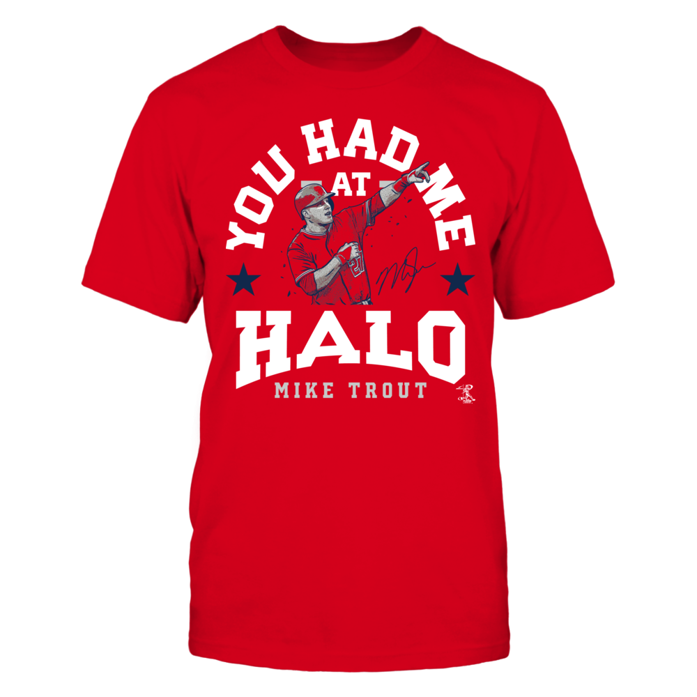 Mike Trout - You Had Me At Halo Front picture
