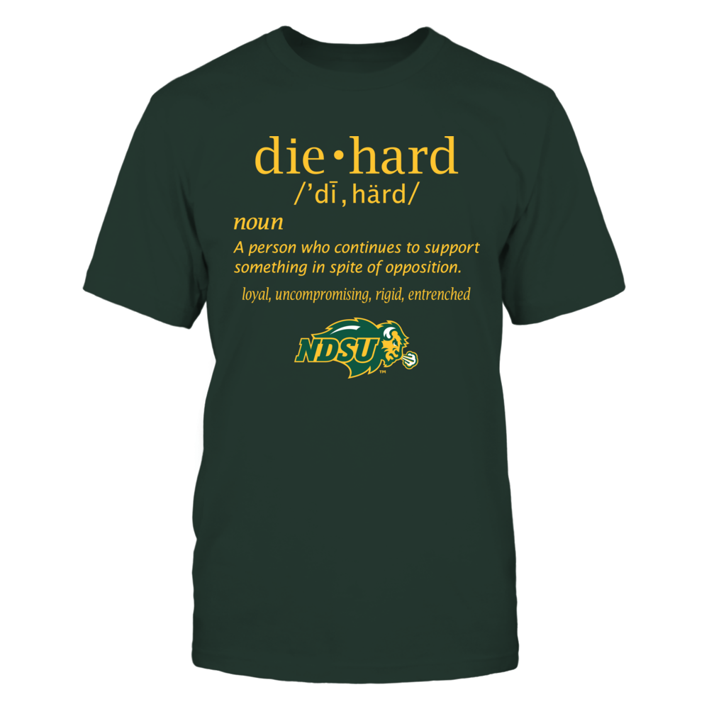 North Dakota State Bison - Diehard Fan Front picture