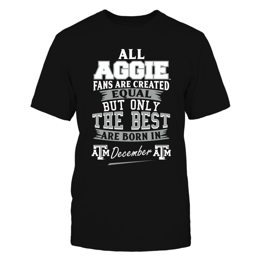 Texas A&M Aggies Fans - December Front picture