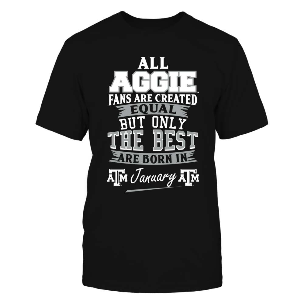 Texas A&M Aggies Fans - January Front picture
