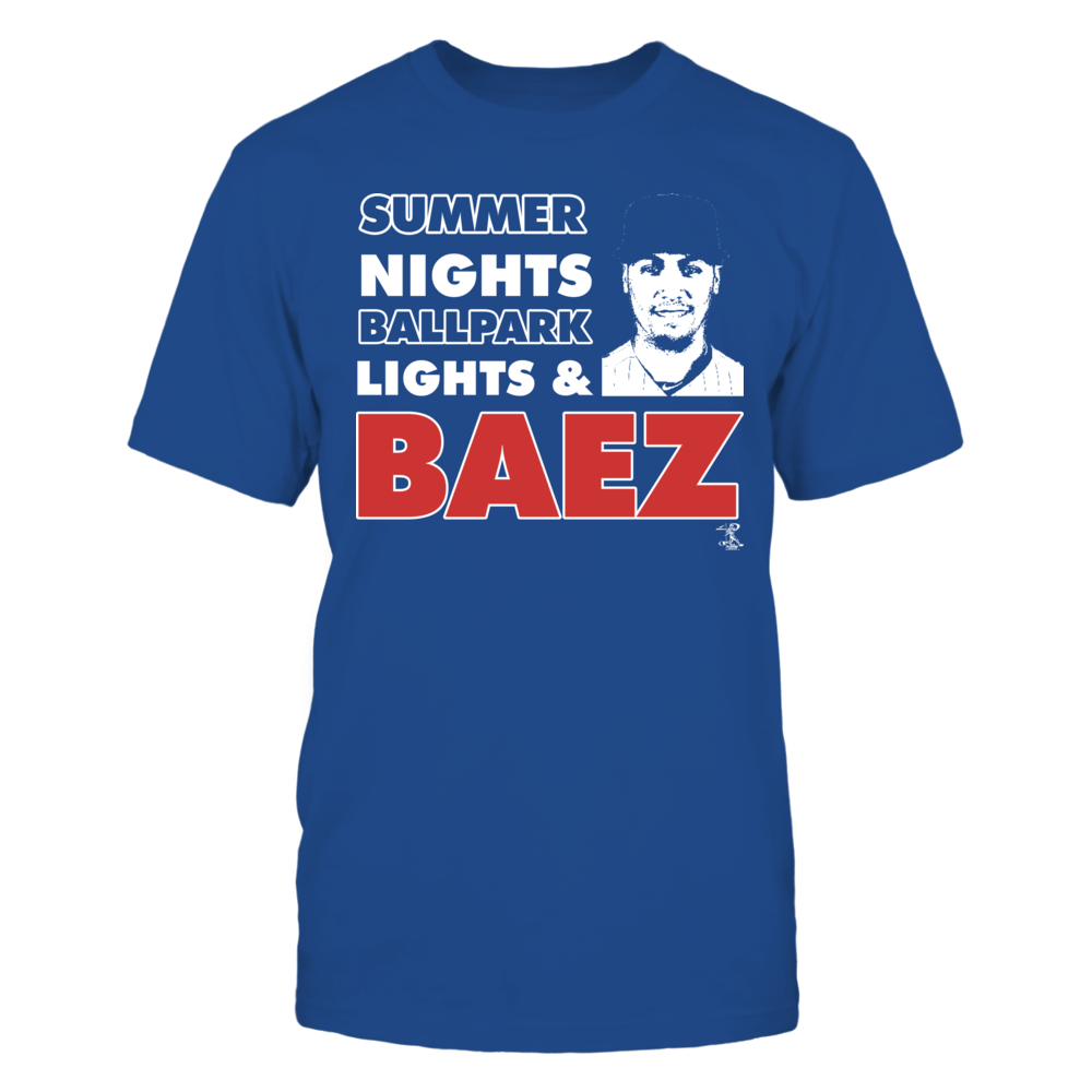 Javier Baez - Summer Nights Front picture
