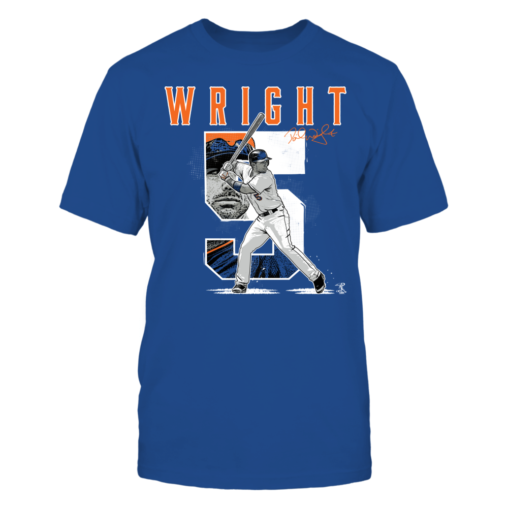 David Wright - Player Number Front picture