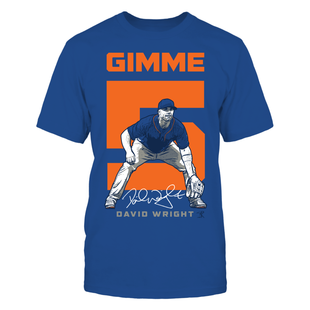 David Wright - Gimme 5 Front picture