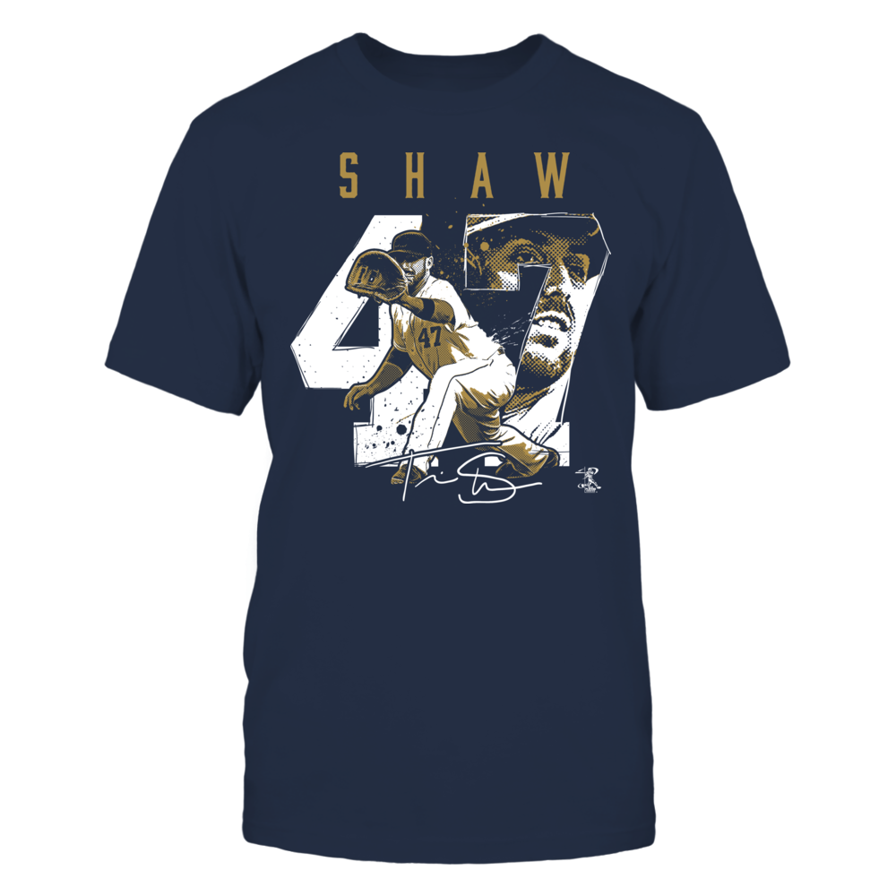 Travis Shaw - Player Number Front picture