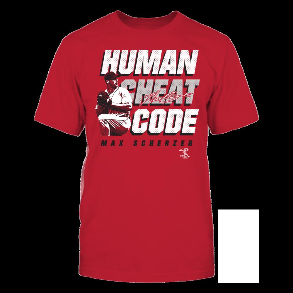 Max Scherzer - Human Cheat Code Front picture