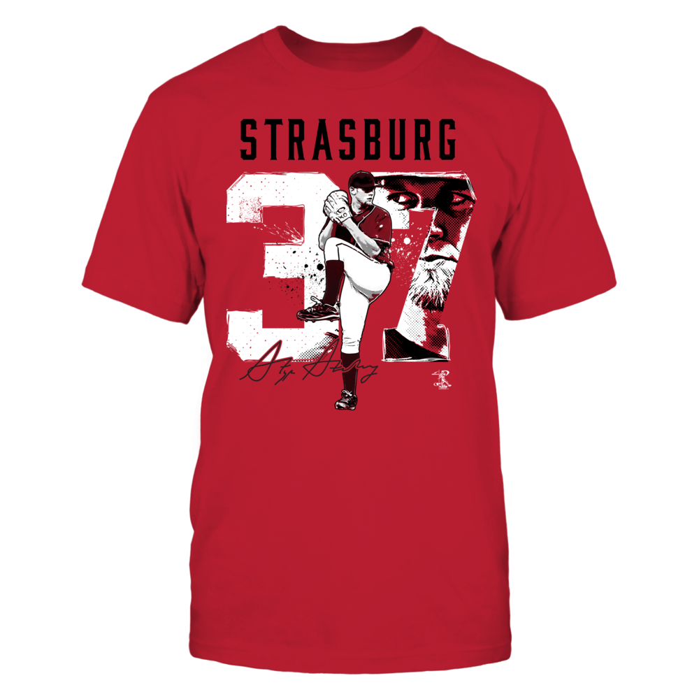 Stephen Strasburg - Player Number Front picture