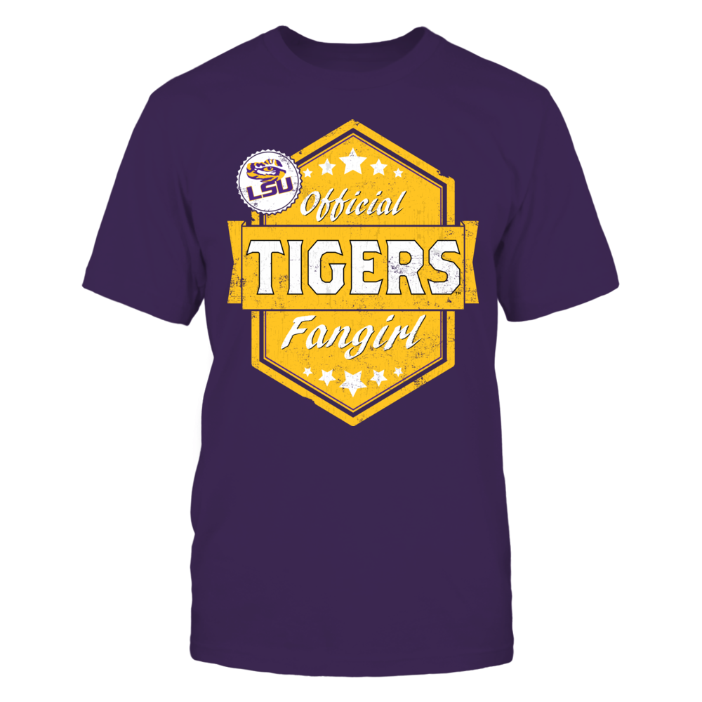 Official Tigers Fangirl - Louisiana State University Front picture