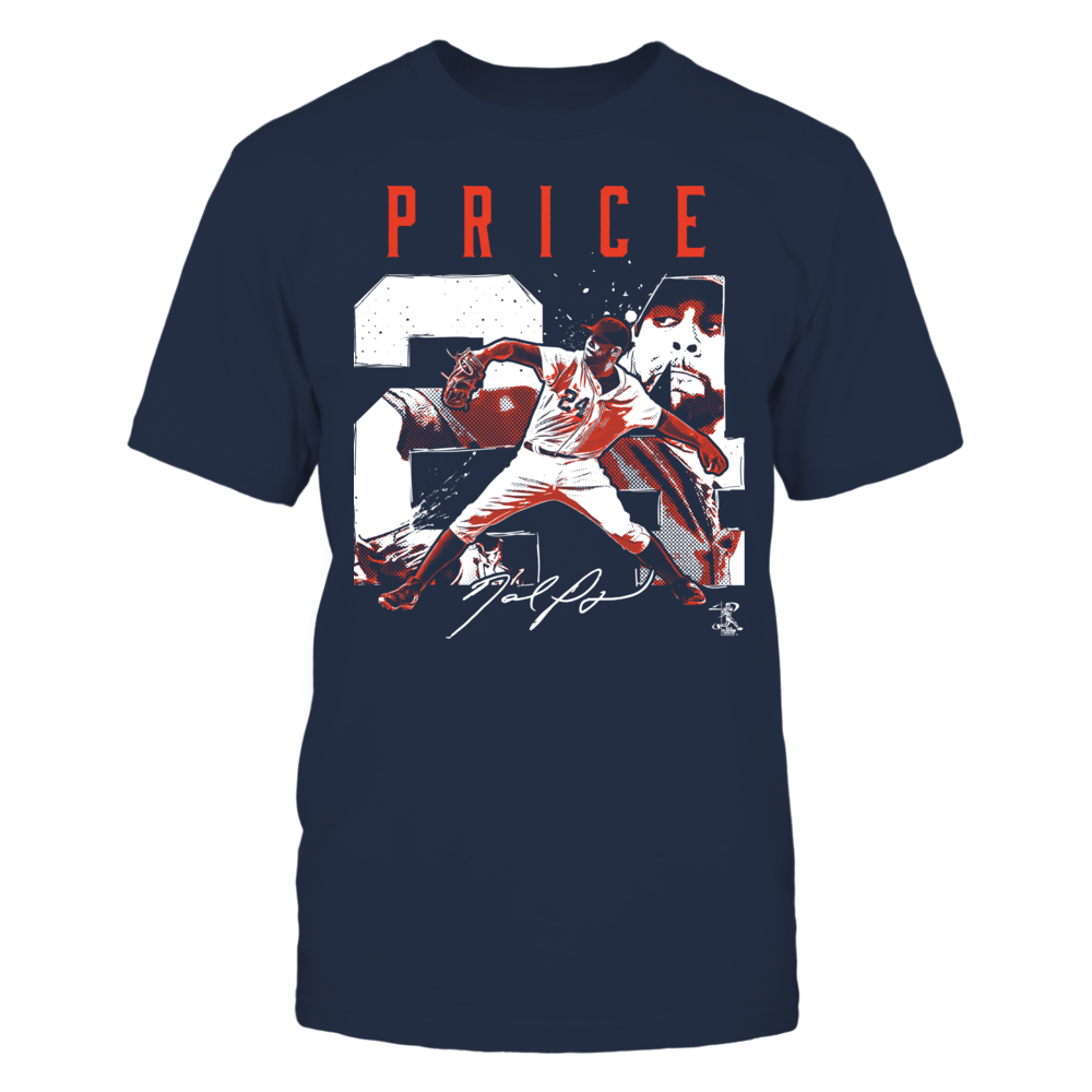 David Price - Player Number Front picture