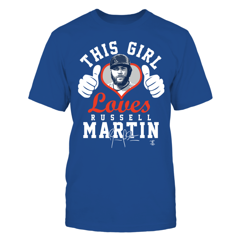 Russell Martin - This Girl Loves W. Thumbs Front picture