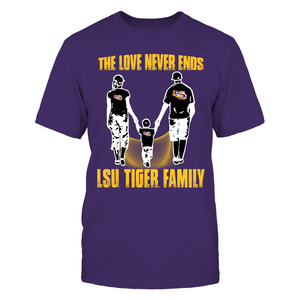 LSU Tigers - Like family - LSU Tigers family Front picture