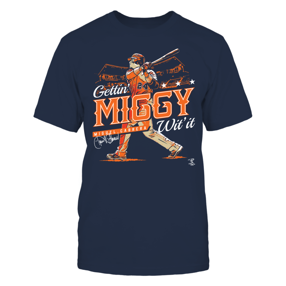 Miguel Cabrera - Gettin' Miggy With It Front picture