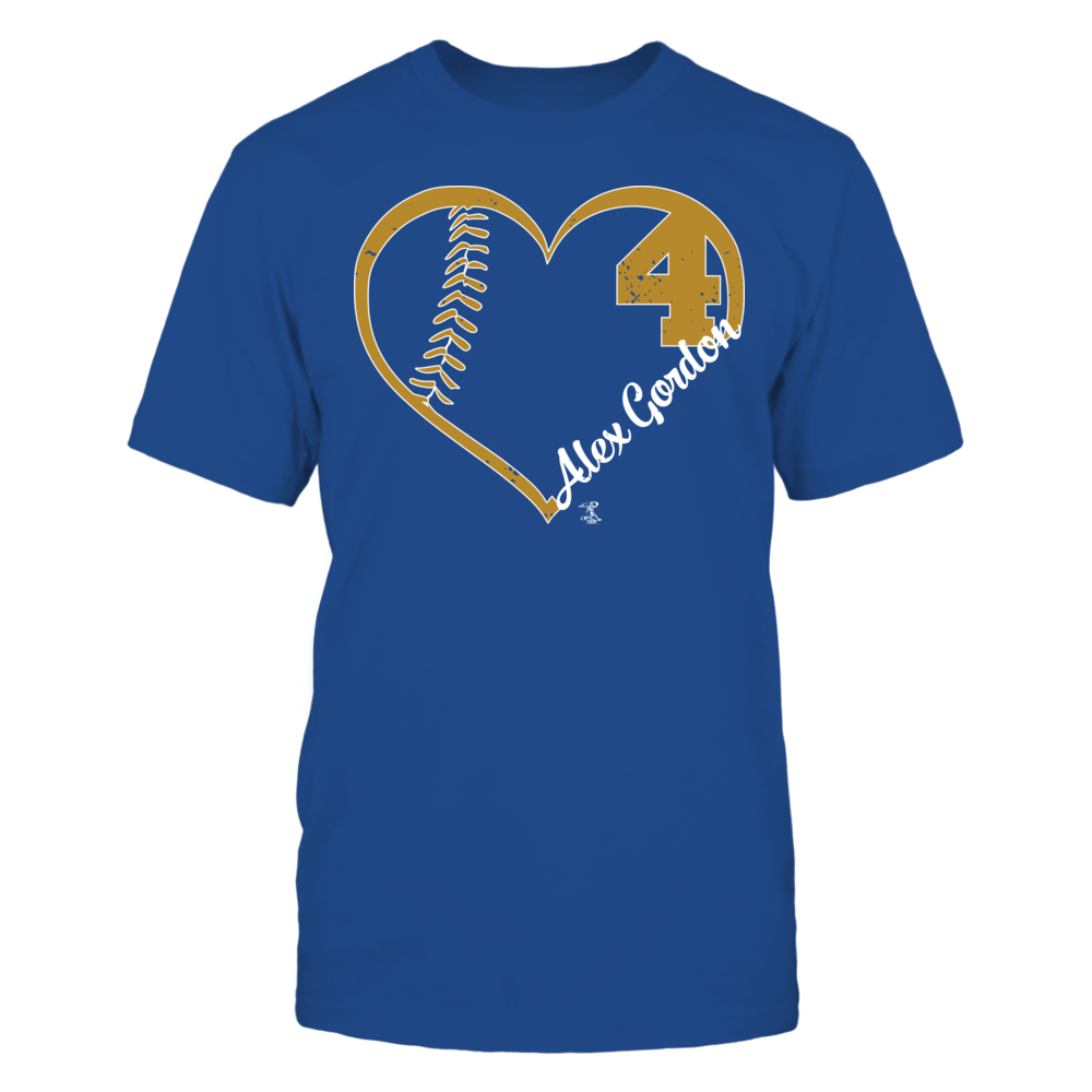 Alex Gordon - Heart Team Front picture