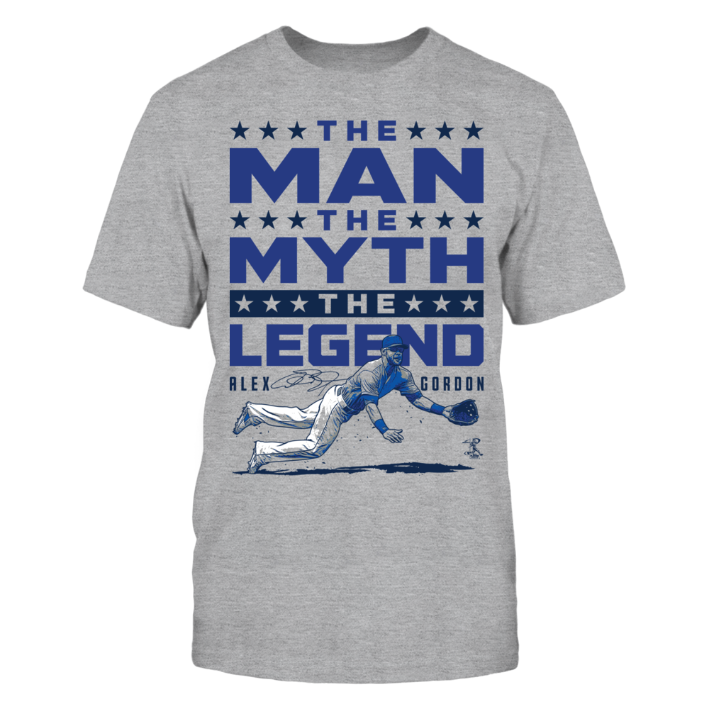 Alex Gordon - Man Myth Legend Front picture