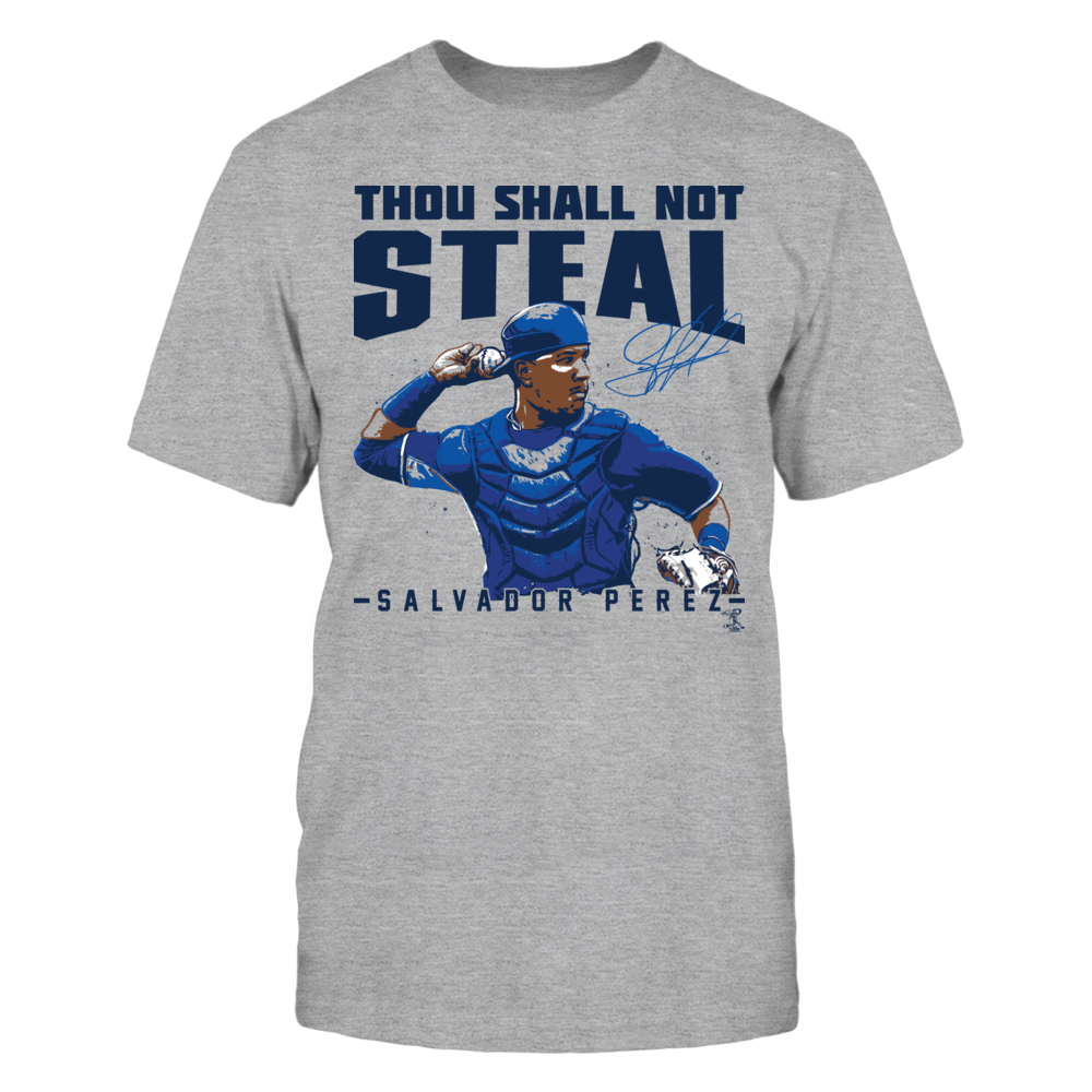 Salvador Perez - Thou Shall Not Steal Front picture