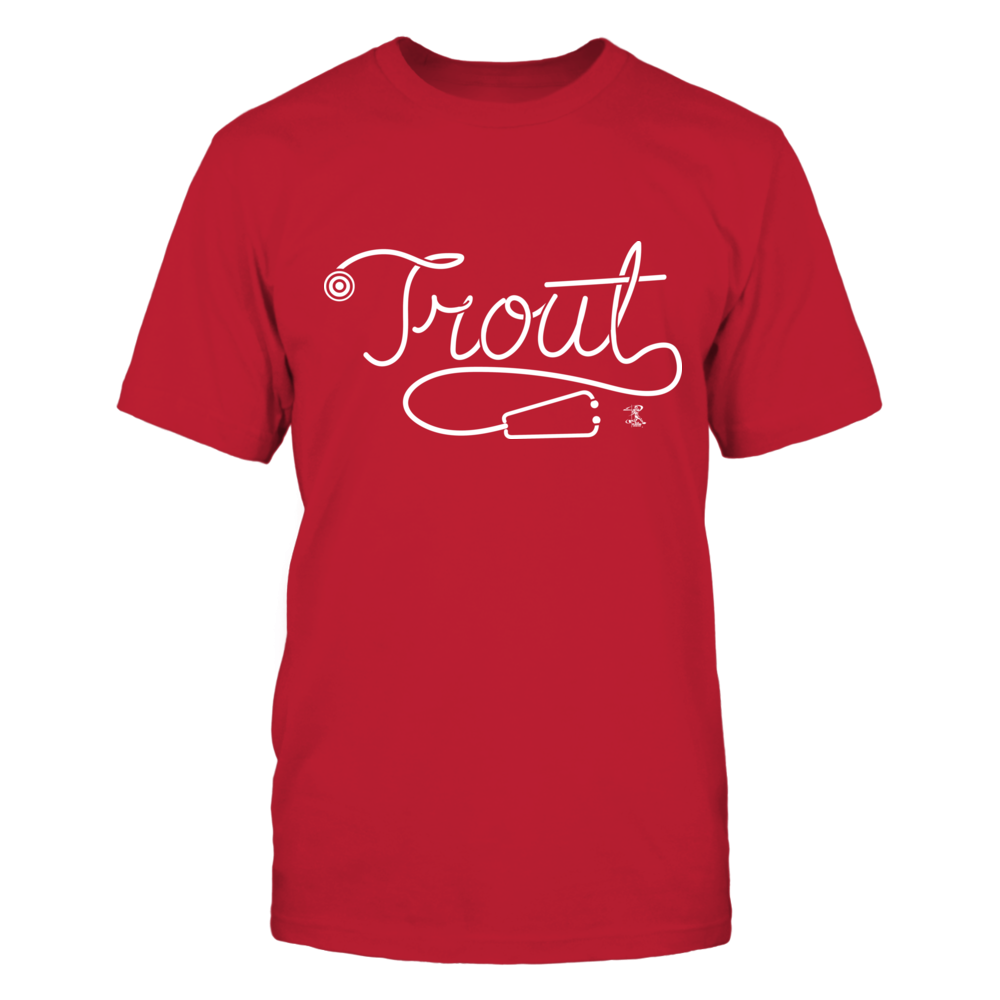 Mike Trout - Stethoscript Front picture