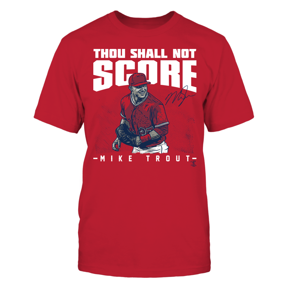 Mike Trout - Thou Shall Not Score Front picture