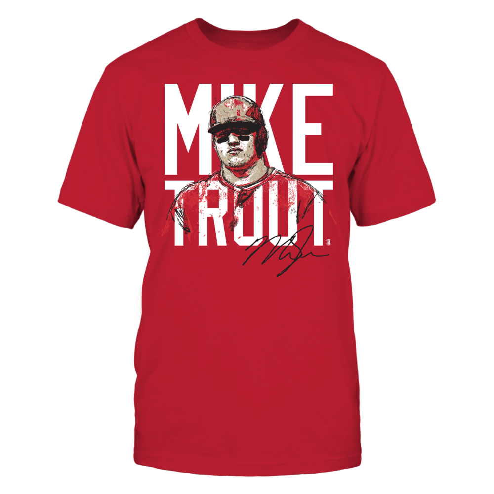 Mike Trout - Player Portrait Front picture