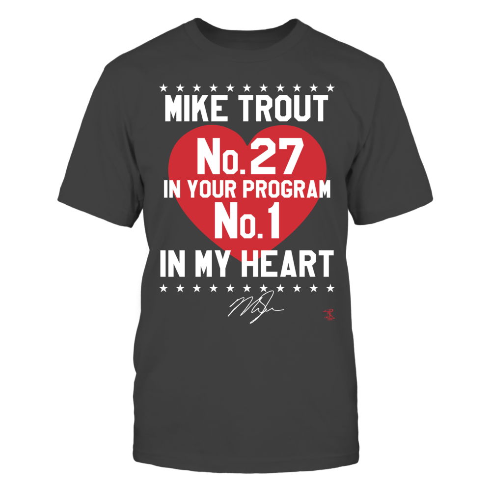 Mike Trout - No. 1 In My Heart Front picture
